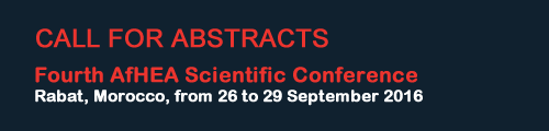 Call for abstracts - fourth scientific conference 2016